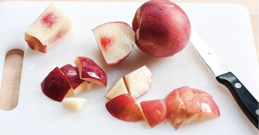 PeachSalad_Peaches